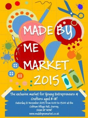 Made By Me Market for 8-18 year old Crafters and Entrepreneurs|