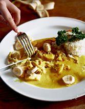 Morberg: Recept kyckling i currysås