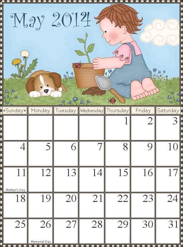 May Calendar Girl Free Book : Best ♦months of the year♦ images on pinterest