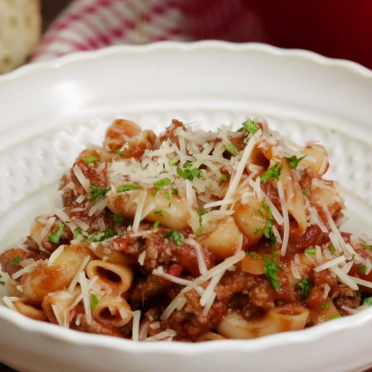One-pot deliciousness just like Grandma used to make — and with elbow macaroni FTW.