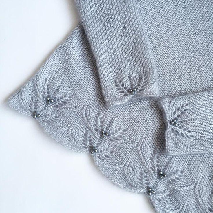 """3,628 Likes, 107 Comments - ВЯЗАНИЕ 🎀 СВИТЕРА 🎀 КАРДИГАНЫ🎀 (@about_my_knitting) on Instagram: """"Вот такая очередная красота у меня  получилась в новом жемчужно-сером цвете. Пряжа Tiffany от Lana…"""""""