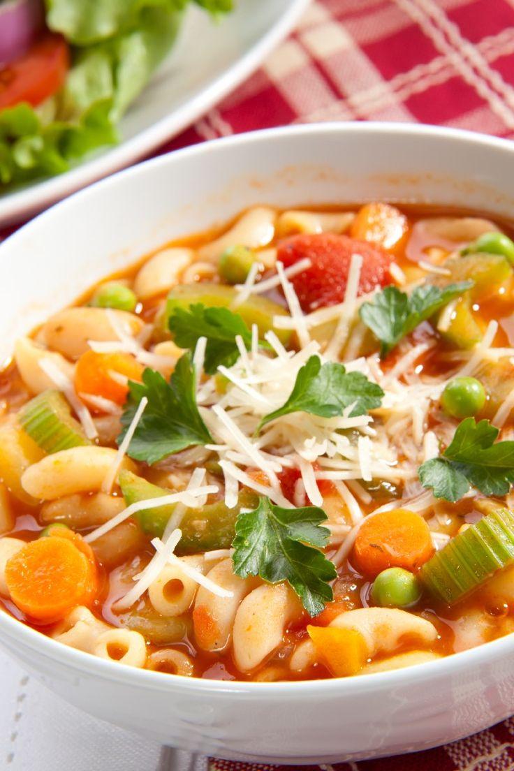 Italian Food ~ #food #Italian #italianfood #ricette #recipes ~ Olive Garden Pasta E Fagioli Soup in a Crock Pot (Copycat)