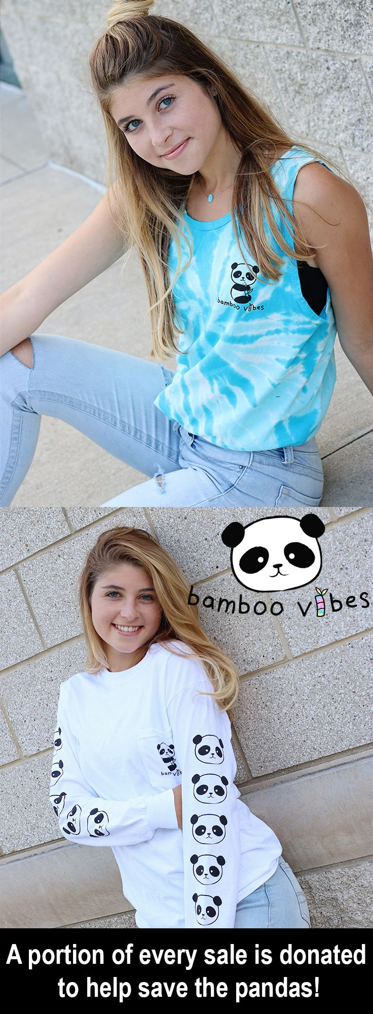 A portion of every sale is donated to help save the pandas! @bamboovibes