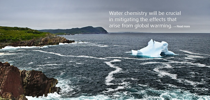 Water chemistry will be crucial in mitigating the effects that arise from global warming.