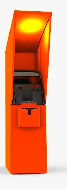 ATM full enclosure orange