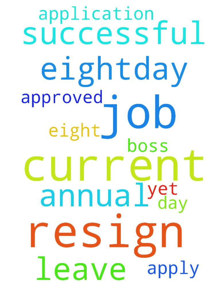 I resign the current job.  As I have more than eight-day - I resign the current job. As I have more than eightday annual leave, I apply for it but my boss have not approved yet. Please ask God to help me so my application will be successful.. Posted at: https://prayerrequest.com/t/t9q #pray #prayer #request #prayerrequest