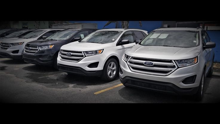 Venta Liquidación 2016 Ford Edge SE $28,995. Unidades con el mejor motor de la industria el Ecoboost 2.0L 4 Cilindros 245 caballos de fuerza. SOLAMENTE 4 DISPONIBLES. Llama y Aprovecha (787) 221-3890.