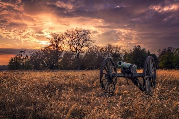 Cannon at Stones River National Battlefield in Murfreesboro Tennessee