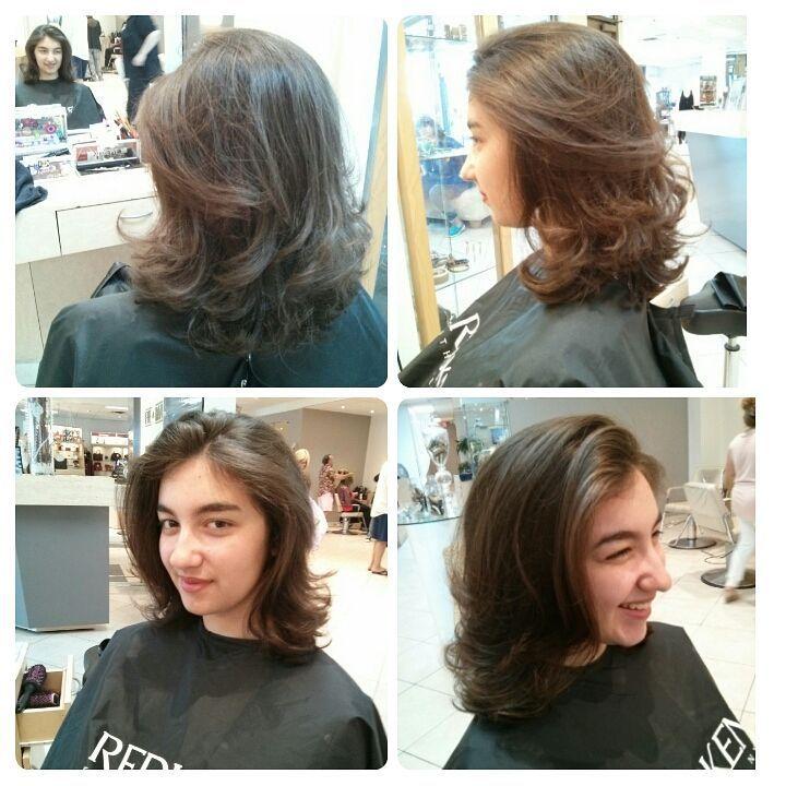 L Incontournable Carre Degrade Laval Haircut Hairdresser Hairstyle Lavalha Bob Brune Brunette Car Cheveux Mi Long Coupe De Cheveux Carre Degrade