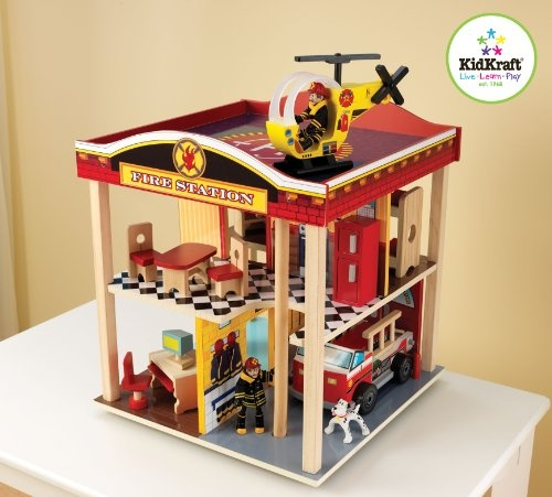 Kidkraft Fire Station Set - Find Me The Cheapest Price	: $69.97