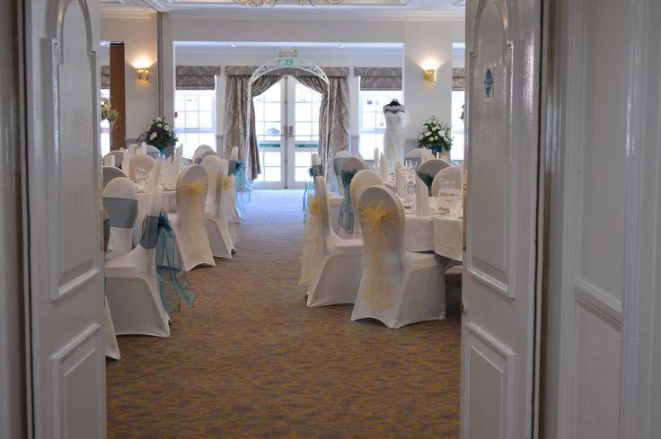 the refurbished Albrighton Suite....