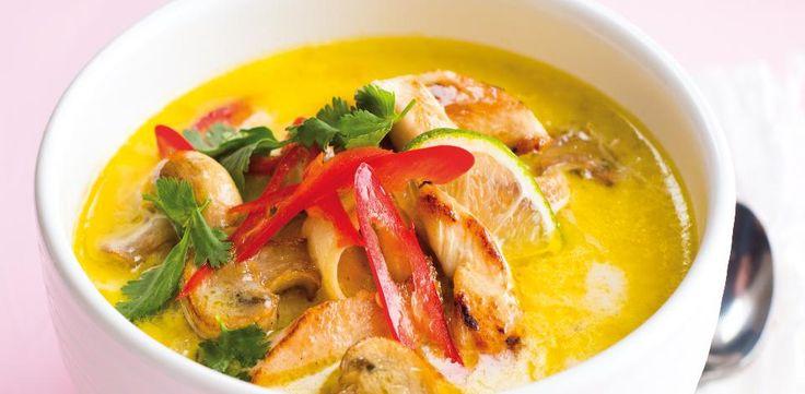 Recepty: Thajská kuřecí polévka