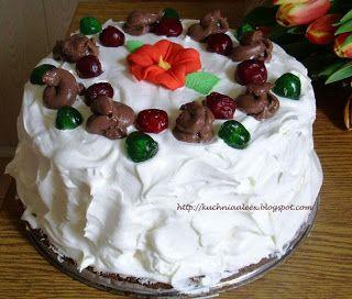 Zawijany tort Czekoladowe Marzenie wg Aleex