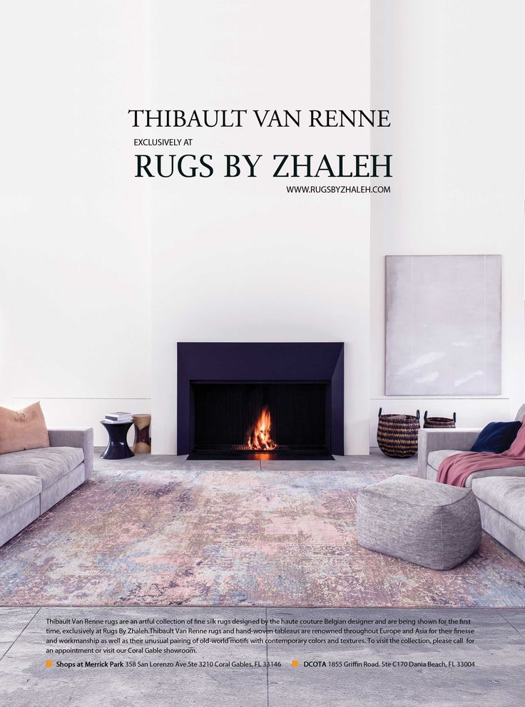 Thibault Van Renne Museum Quality RUGS Are Shown In Miami. To Preview This  One Of