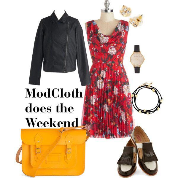 One @ModCloth dress three ways - Weekend errands