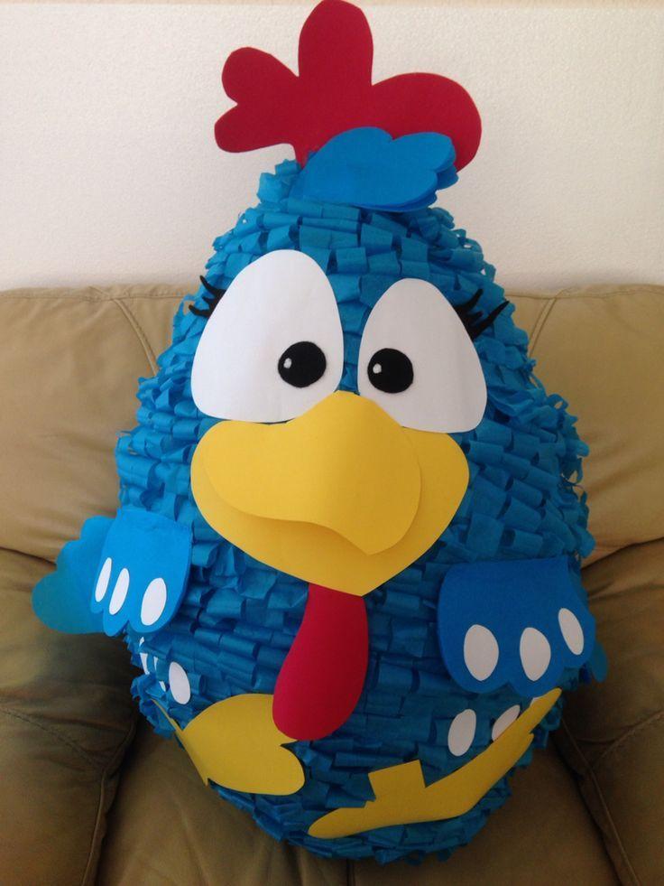 piñatas de gallina pintadita - Buscar con Google