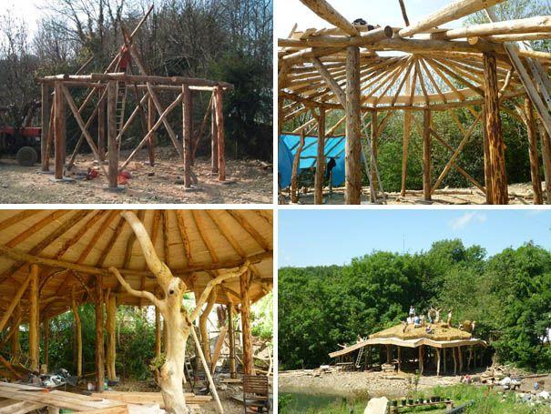 NapadyNavody.sk | Nádherný prírodný domček z dreva a slamy za 23 000 Eur