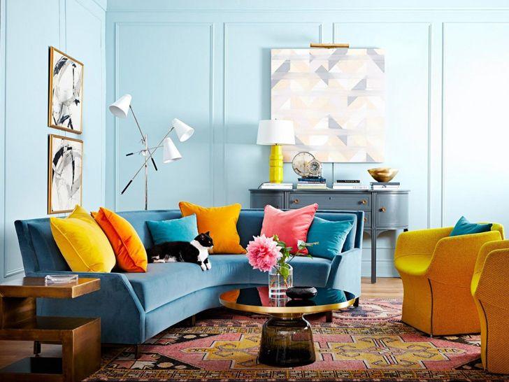 Tekstylia to klucz do koloru    #kolorwedodatki #kolorowedekoracje #DecoArt24