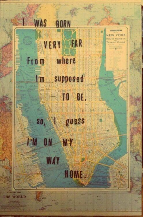 How I feel about New York...On my way home!
