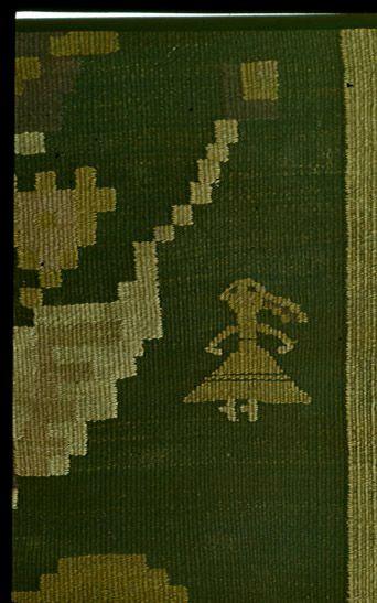 Antropomorph; detail: Bessarabia / Moldova; romanian rug in the National Ethnographic Museum, Chisinau