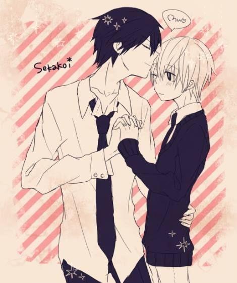 Takano and Ritsu - Sekai-ichi Hatsukoi
