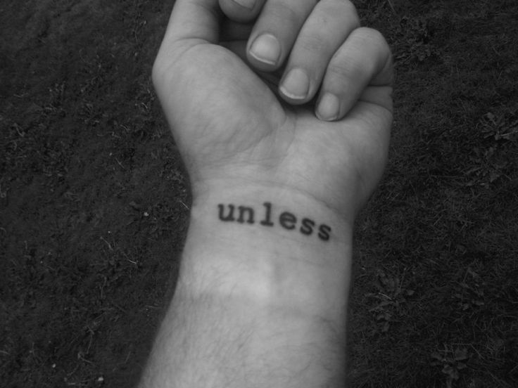 """Literary Tattoos: The Lorax Dr. Seuss """"Unless someone like you cares a whole awful lot, nothing's going to get better, it's not."""""""