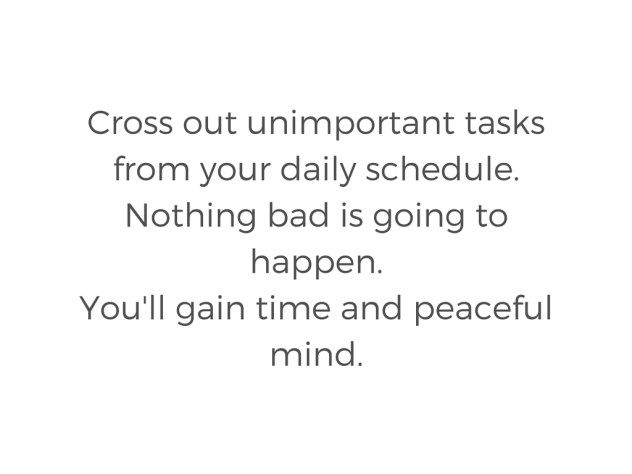 You can do a lot less than you think. And nothing bad is going to happen.  #less #freedom #timemanagement #slowlife #minimalism #todolists #slowandhappycom