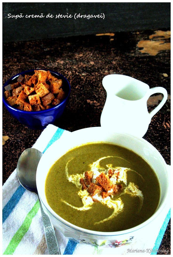 Kitchening: Supă cremă de ştevie (dragavei)