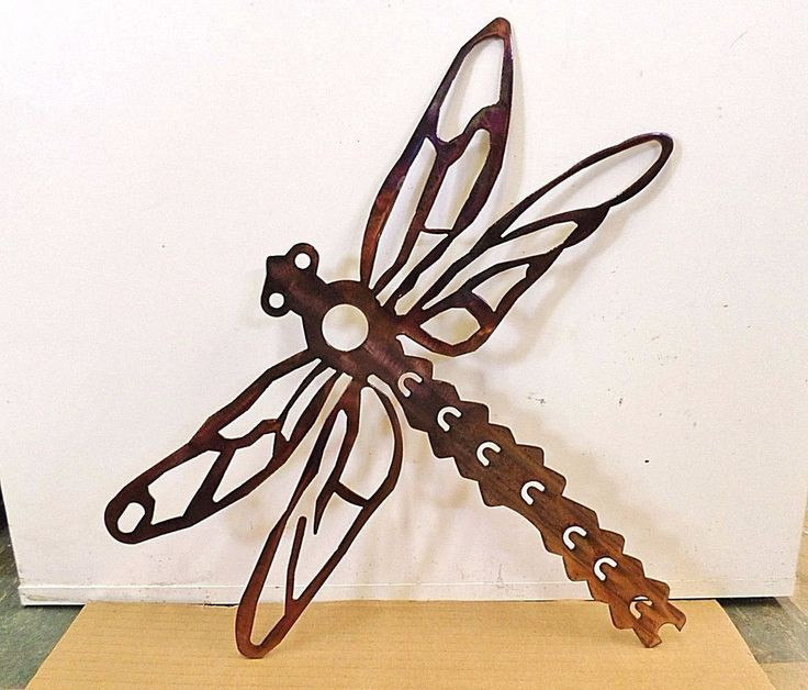 Plasma Cut Steel Dragonfly Home Wall Decoration Outdoor Sign Art! | Home & Garden, Home Décor, Plaques & Signs | eBay!