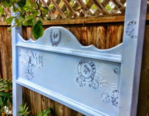 French Blues Headboard - Reader Feature - The Graphics Fairy