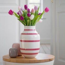 Kähler vase stor - Rosa