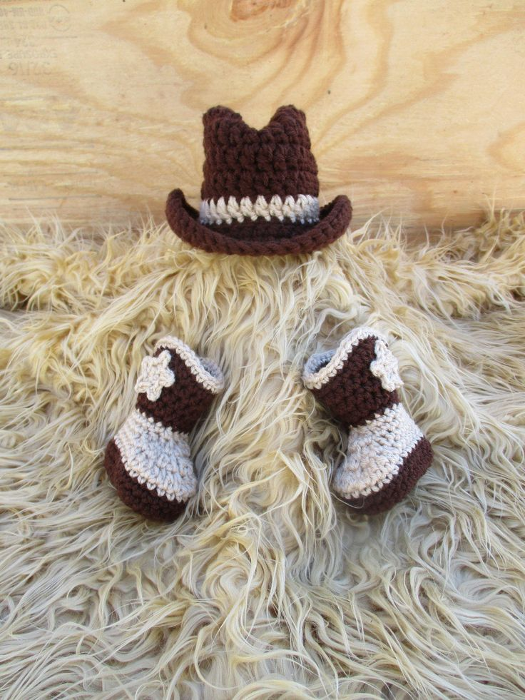 Knitted Baby Cowboy Hat Pattern : 1000+ ideas about Crochet Cowboy Hats on Pinterest Crocheting, Crochet cowb...