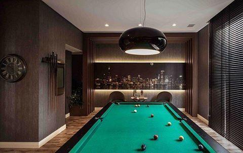 Belíssima sala de jogos #snooker #sinuca #ball #inovando #arte #inovação #inovalife  www.inovalife.com.br