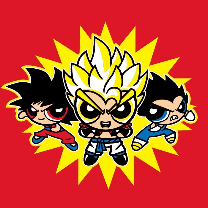 Dragonpuff Z Fusion T-Shirt $12 Dragon Ball Z tee at ...