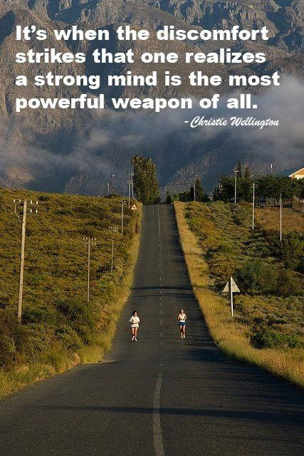 Truth. And that is what makes running so powerful.
