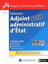 Concours adjoint administratif d'Etat - Catégorie C 9e édition Pascal Tuccinardi