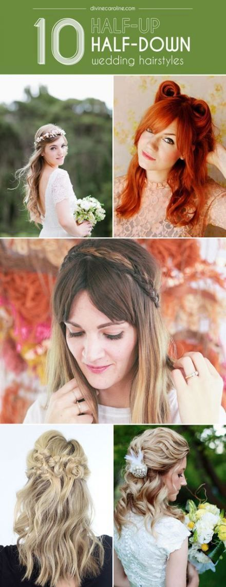 Wedding hairstyles straight half up crown braids 55+ trendy ideas,  #Braids #crown #Hairstyle...