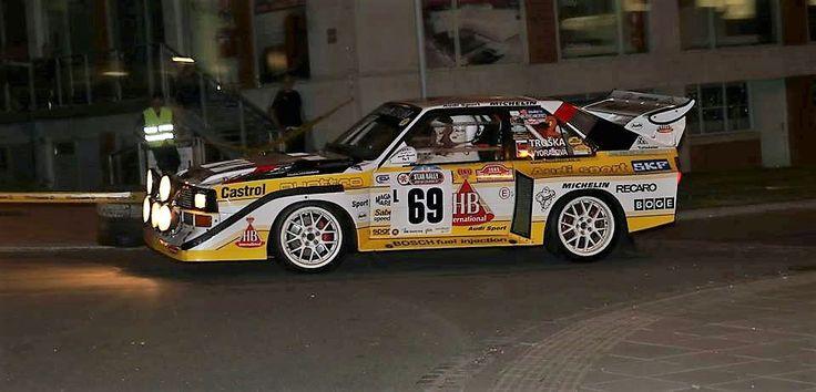 Old Car Barum Rally 2017 nocni RZ