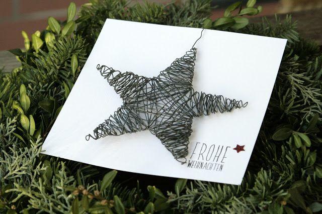 51 best Draht images on Pinterest | Draht, Weihnachtsbasteln und ...