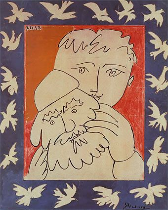 New Year by Picasso (1953). Happy new year. 02007? Read this.
