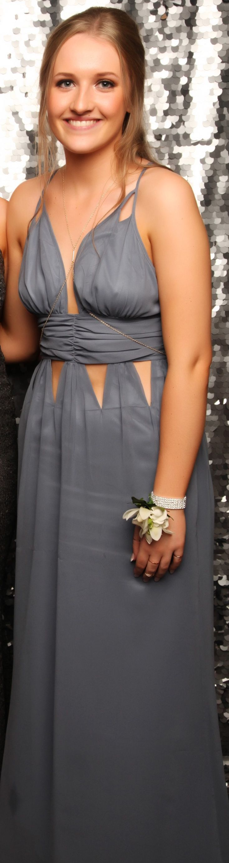 Baradene Ball 2016. Love this unique gown! www.whitedoor.co.nz