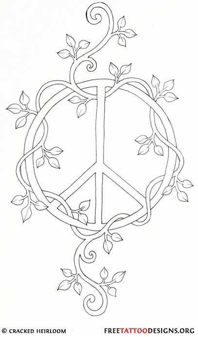 1000 Ideas About Hippie Tattoos On Pinterest