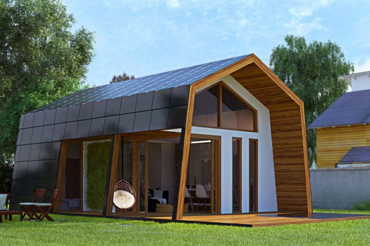Ecokit is a modular, flat-packed design built from thermal-insulated panels and sustainable materials.