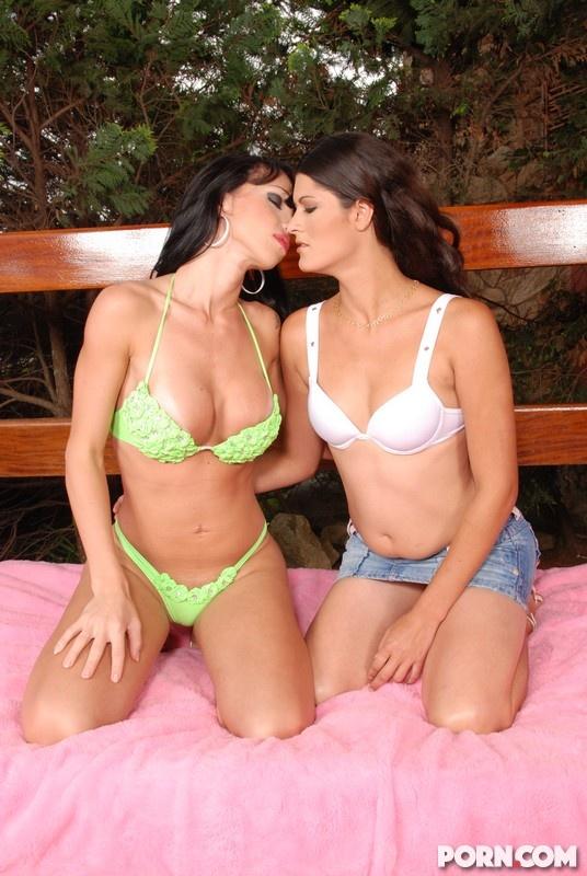 from Blake shemale kissing girls