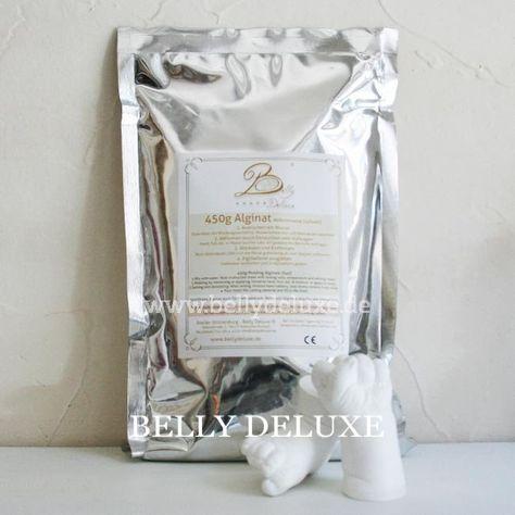 Alginat Abformmasse, schnelle Abbindung, besonders geeignet für 3D Baby Abdrücke In kürze wieder lieferbar Inhalt: 450g Alginat Pulver, nicht toxisch. Farbindikator weiß, pink, hellgrau. Abformung von Babyhänden-und Füßen, Paarhandabdrücke oder Geschwisterhände, durch Eintauchen in die angemischte Masse. Bitte beachten: Mischungsverhältnis: 3 Teile Wasser mit 1 Teil Alginat (z.B. für eine Babyhand im 500ml Becher 300ml Wasser mit 100g Alginat) Abbindezeit: Ca. 2:30 Minuten.Mit…
