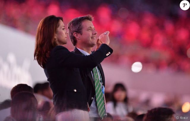 Royals & Fashion: Opening ceremony of the Olympics in Rio