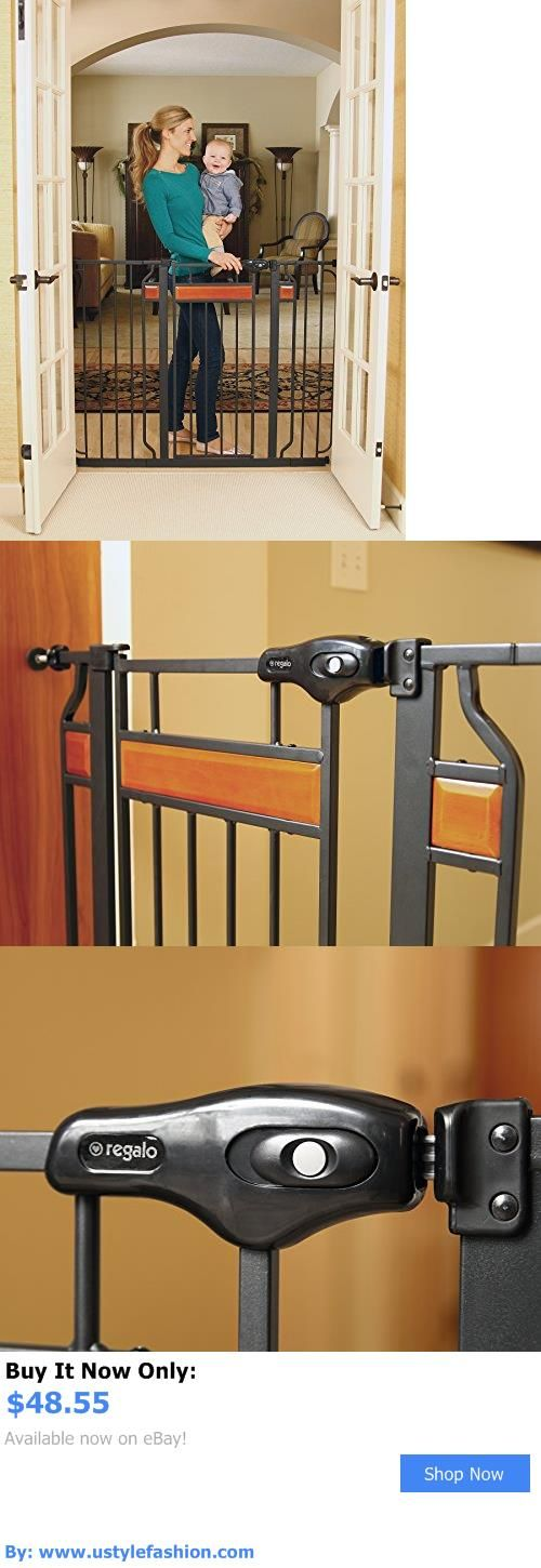 Baby Safety Gates: Baby Safety Gate Door Walk Extra Wide Child Toddler Thru Fence Pet Dog Metal BUY IT NOW ONLY: $48.55 #ustylefashionBabySafetyGates OR #ustylefashion