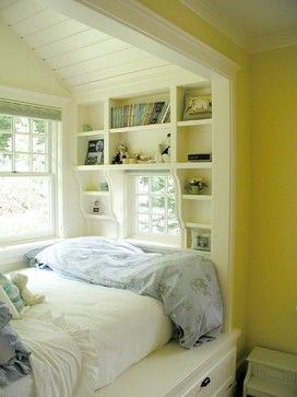 built-in bed I love bed nooks