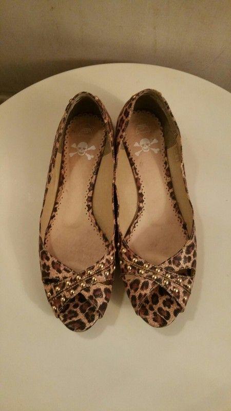 Chaussures plates panthère