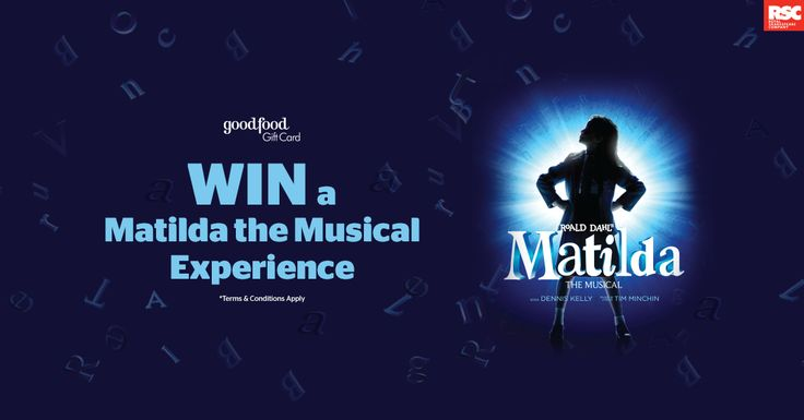 WIN a Matilda the Musical Experience (Valued at over $1900)